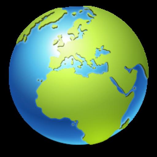 world globe transparent3
